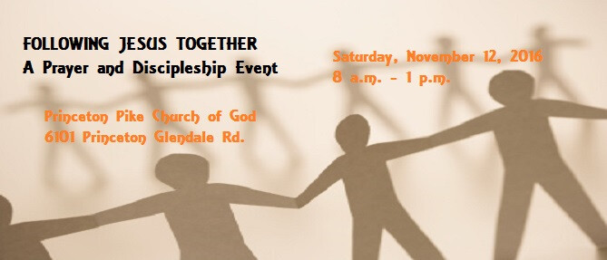 Following Jesus Together Event