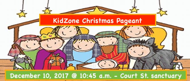 KidZone Christmas Pageant 2017