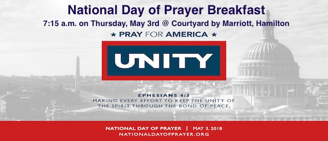 NATIONAL DAY OF PRAYER BREAKFAST