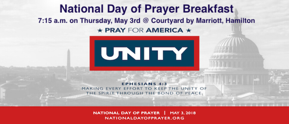 National Day of Prayer Breakfast 2018