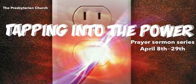 Tapping into the Power sermon series