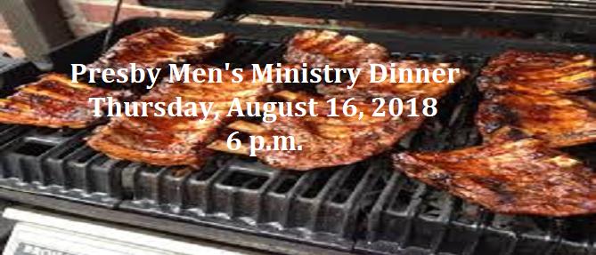 Men's Ministry Dinner