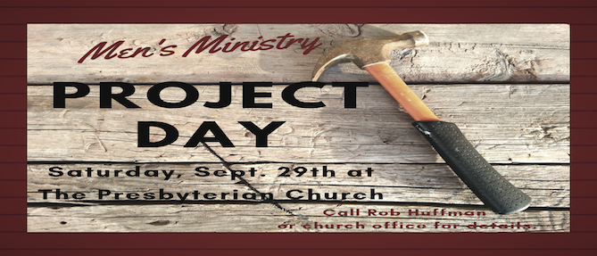 Men's Ministry Project Day