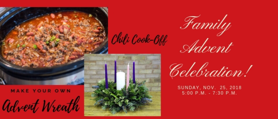 Family Advent Celebration/Chili Cook-Off