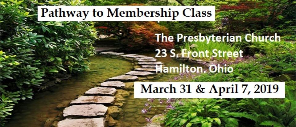 Pathway to Membership Class