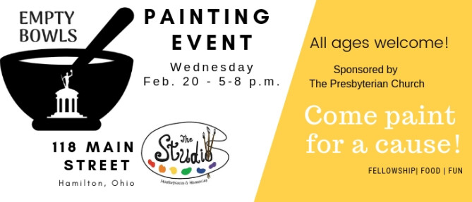Empty Bowls Painting Event
