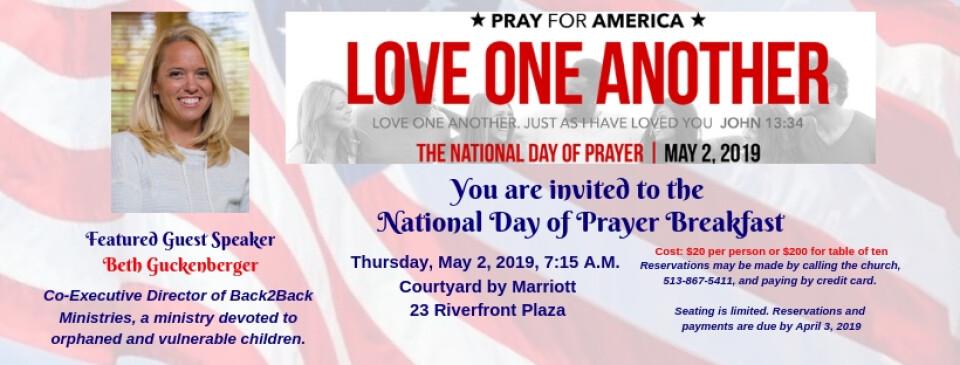 National Day of Prayer Breakfast 2019