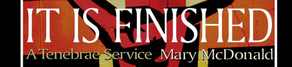 Maundy Thursday Tenebrae Service