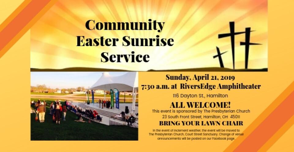 Community Sunrise Service
