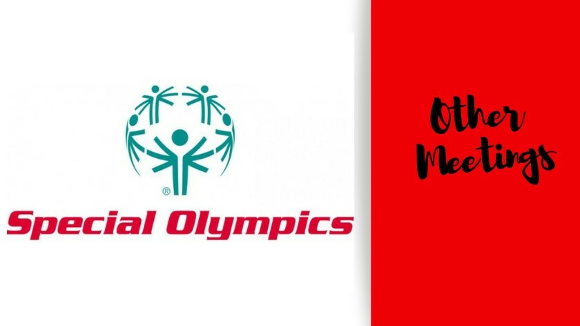 Special Olympics Board Meeting