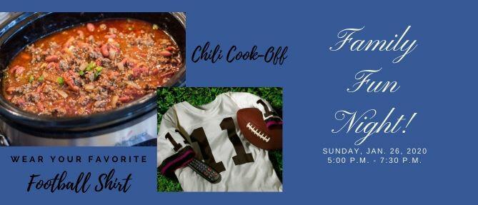 Family Fun Night/Chili Cook-Off