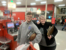 Salvation Army shopping with Ignite Youth