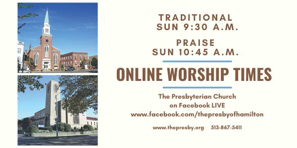 Online Traditional Sunday Services