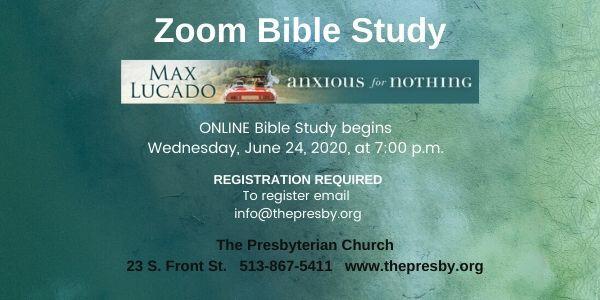 Online Zoom Bible Study