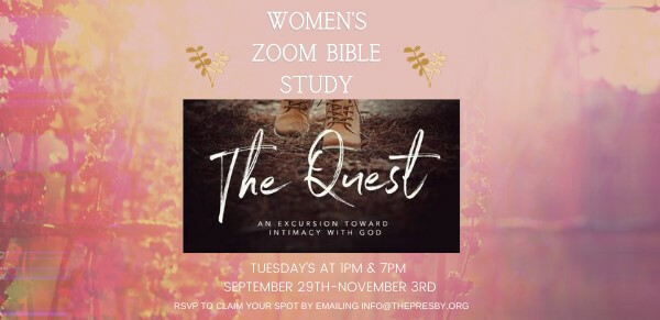 Fall Women's Online Beth Moore Bible Study - Daytime