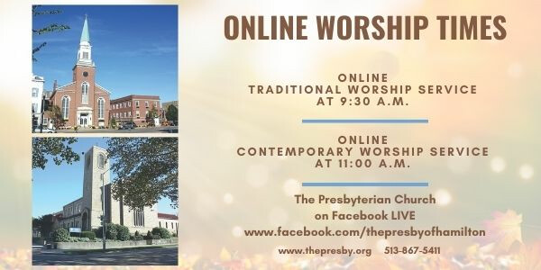 Online Traditional Sunday Service
