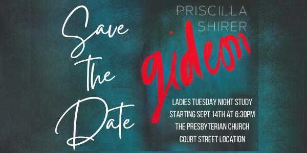 Ladies Tuesday Night Bible Study - Gideon